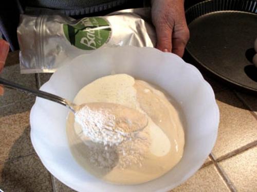 Quiche Poireaux au Baomix, pulpe de baobab biologique
